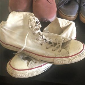 Worn converse size 11 (12 in other shoes)